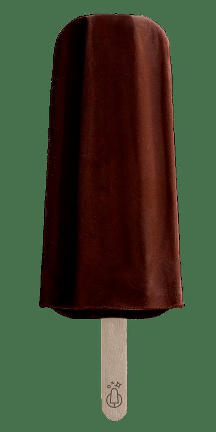 Polo de palo chocolate vegano - Stickart